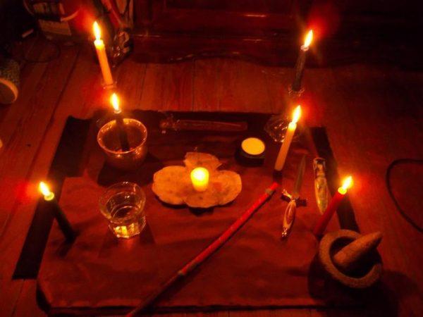 black magic voodoo priest